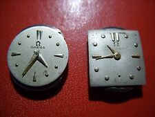 two Omega cal. 243, wristwatch movement,for repair or parts