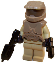 **NEW** LEGO Custom - TAN HALO SPARTAN - Master Chief Xbox Game Minifigure