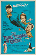 """The Three Stooges in Orbit Movie Poster Replica 13x19"""" Photo Print"""
