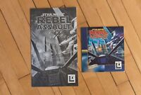 Star Wars Rebel Assault Lucas Arts 1993 IBM CD-ROM with Sleeve and Instructions