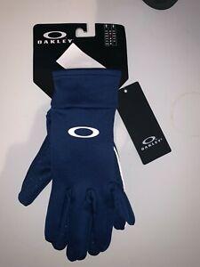 Oakley Unisex Fleece Gloves Color Dark Blue Size Large