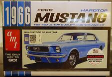 1966  Ford Mustang Hardtop, 1:25, AMT 704