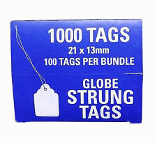 21x13mm Pre-Strung Swing Tags. 71860
