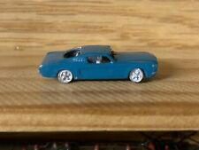 N Scale 1/160 -1965 Mustang Fastback. Detailed Assembled Kit.finish