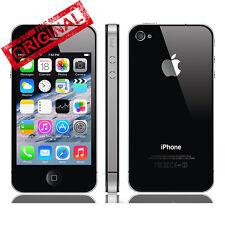 Auténtico Apple iPhone 4S 16GB Negro Desbloqueado Smartphone Móviles libres WIFI