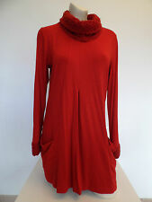 Verpass Tunika Long Shirt Rollkragen Rot Gr. 38