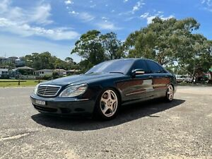 MERCEDES BENZ S500 W220 S CLASS /// SUIT AMG BMW M BUYER