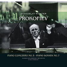 Sergej Prokofiev - Piano Concerto 5 / Piano Sonata 7 [New Vinyl LP] Holland - Im