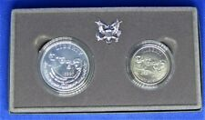 MOUNT RUSHMORE ANNIVERSARY COINS - SILVER DOLLAR - HALF DOLLAR - PROOF  BWB-696
