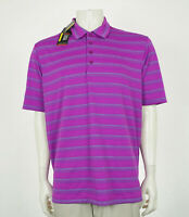 New Under Armour UA Purple Tech Blend Golf Polo Shirt Mens Large