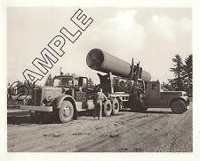 MACK LJ Diesel Loading Conc Pressure Pipe, V. VAN DYKE, Seattle, WA 8x10 Photo
