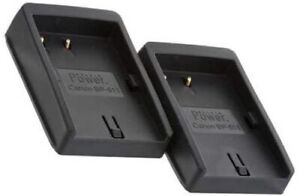 Delkin Universal Charger Plates for Canon BP511/511A Battery