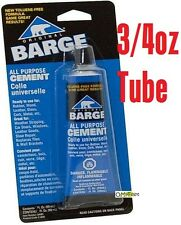 Barge All-Purpose Rubber Cement Glue Toluene Quabaug tube T/F  3/4-oz (22-ML)