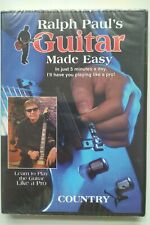 Learn to play Country guitar with Ralph Paul's Guitar Made Easy (2 DVD set)