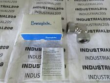 SWAGELOK 1'' STAINLESS UNION ELBOW SS-1610-9 NEW IN BOX