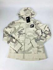 Nike Full Zip Hoodie Jacket Aq5772-072 Size Xl Boys Camouflage White & Gray