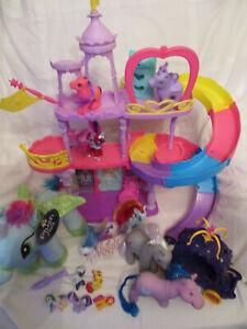 Hasbro My Little Pony Castle Playset and Large plush pony