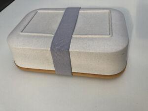 Lunchbox Brot Dose mit Holzschneidebrett