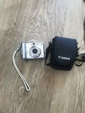 Canon PowerShot A560 7.1MP Digital Camera - Silver. Not Fully Working