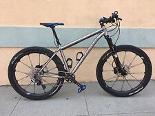 "Kona Explosif Ti Mountain Bike 650B 27.5 Sram XX1 Shimano XT Carbon Parts 15"""
