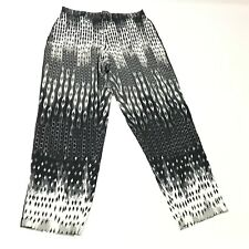 Natori Sleep Pants Pj Bottoms Sleepwear Pajama Drawstring Chiffon Size S Gray