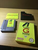 Nintendo NES Low G Man Boxed Complete Great Condition
