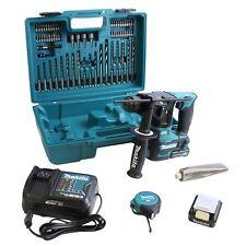 Makita HR 166 dsae 1 SDS-Plus batería taladro percusión 10,8 voltios 2x batería 2.0ah y bits perforación