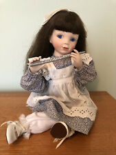 The Ashton Drake Galleries Beautiful Dreamers Collection Nicolette Doll W/ Flute