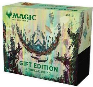 Zendikar Rising Holiday Gift Bundle MTG BOX IN STOCK FACTORY SEALED FLASH SALE