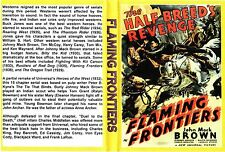 FLAMING FRONTIERS Cliffhanger Chapter Serial