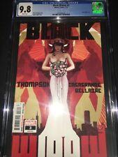 Black Widow #3 CGC 9.8 - Adam Hughes Cover - 2021