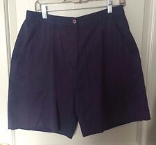 The Villages Florida Collection Women's Navy Blue Shorts Size 12