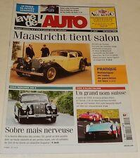 LA VIE DE L'AUTO N°1112 - Janvier 2004 : Essai MERCEDES 220 S