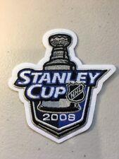 2008 NHL Stanley Cup Patches Detroit Redwings Vs Pittsburgh Penguins Zetterburg