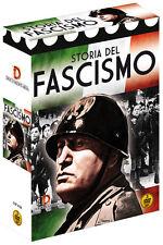 Cofanetto 3 DVD La Storia del Fascismo Mussolini Mito Consenso e Tragica Fine