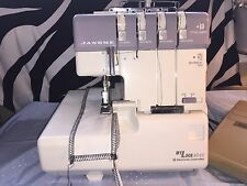 JANOME MYLOCK 634 OVERLOCKER SEWING MACHINE