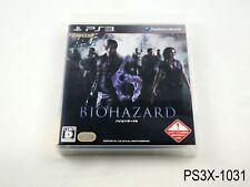 Biohazard 6 Playstation 3 Japanese Import Resident Evil JP PS3 US Seller