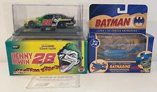 BATMAN : KENNY IRWIN 28 NASCAR & 1960'S MARINE 1/43 SCALE DIE CAST MODELS