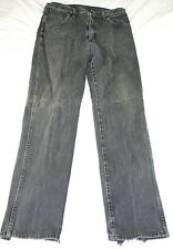 Wrangler black denim jeans, size 33X34