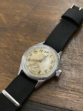 31mm VINTAGE USA US ARMY 1940'S WW11 WALTHAM ORD DEPT MILITARY WATCH GENTS MENS