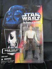 Kenner Star Wars Power Of The Force Red Card Han Solo In Carbonite Block Action