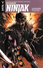Ninjak Vol 1: Weaponeer & Vol 2: Shadow Wars by Kindt, Guice & more 2015 TPB