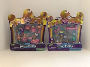 Shopkins Happy Places Royal Trends Squirrel Palace & Charming Wedding Arch - NEW
