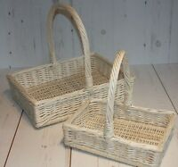 Wicker Display Tray  Basket Wedding Flower Easter FRUITS Gift basket