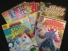 Guardians Of The Galaxy - Silver Surfer - Galactus : Set of 6 Marvel Comic Books