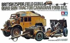 1/35 Tamiya British 25PDR. FIELD GUN & QUAD GUN TRACTOR Canadian FORD FGT #35044