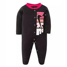 Logotipo de Nike bloque Sleep & Play una pieza Batas Bebé Niña 3 meses Nuevo