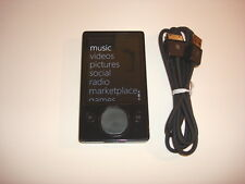 Microsoft Zune Black CustOm.128Gb. Ssd Drive.New Battery.