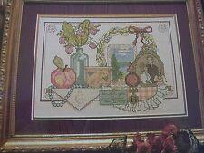 Victorian Lady Shelf Magazine Cross Stitch Pattern (G)