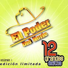 New: El Poder Del Norte: 12 Grandes Exitos 2 Limited Edition Audio CD